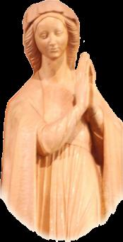 Statue der Gottesmutter